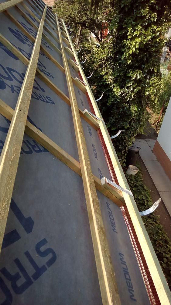 tető belső szigetelése
