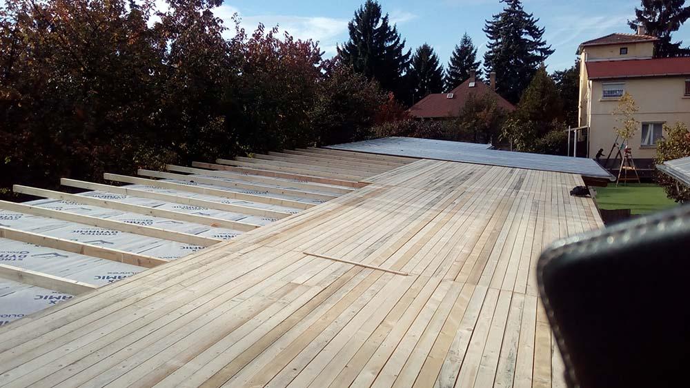 A tető felújítás, karbantartás menete